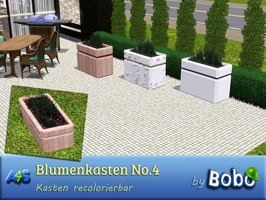 Sims 3 planter, object, decor