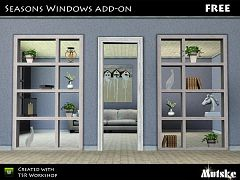 Sims 3 window, divider, set