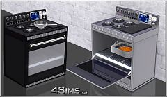 Sims 3 stove, objects, appliances, gas, professional