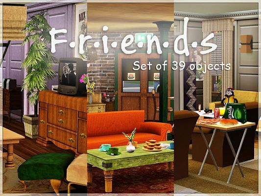 Sims 3 decor, objects