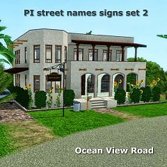 Sims 3 sign, decor, objects