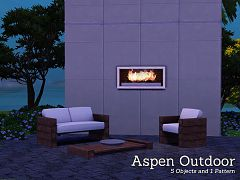 Sims 3 set,  outdoor, objects