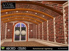 Sims 3 cellings, arch, decor