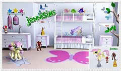 Sims 3 kidsroom, toys, objects, decor, sims3
