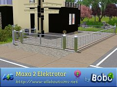 Sims 3 fence, gate, build, set