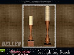 Sims 3 light, lamp, lighting, set