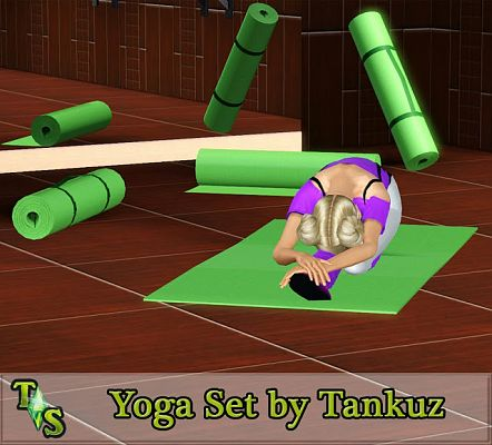 Sims 3 pose, poses, pack, gym, fitness, yoga