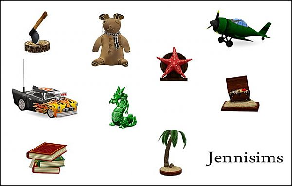 Sims 3 toys, objects, decor, sims3