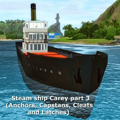 Sims 3 ship, boat, object