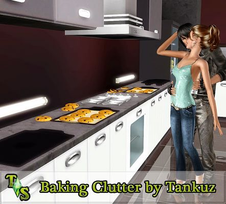 Sims 3 clutter, decor, baking, sims3