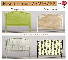 Sims 3 headboard, decor, sims3