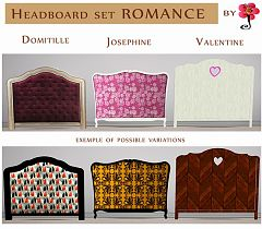 Sims 3 headboard, objects, set