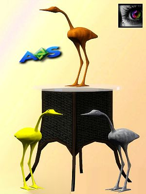Sims 3 statue, decor, object