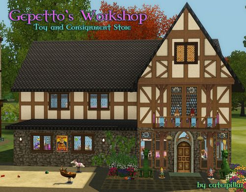 Sims 3 shop, consigment, toy
