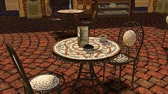 Sims 3 table, chair, furniture