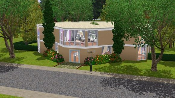 Sims 3 school, nursery, lot, community