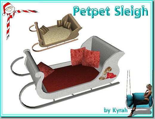 Sims 3 bed, pets, furniture
