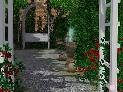 Sims 3 bird, outdoor, garden, set