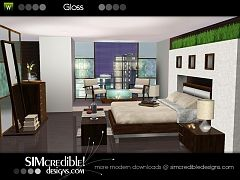 Sims 3 bedroom, objects, decor, sims3