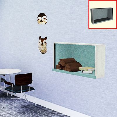 Sims 3 wall, shelf, furniture