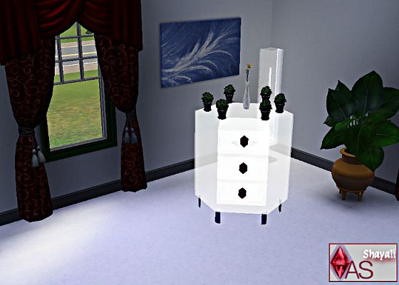 Sims 3 dresser, crystal, furniture