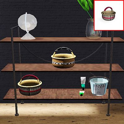 Sims 3 basket, decor, objects, sims3