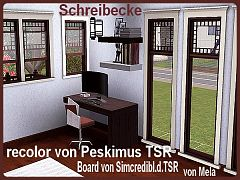 Sims 3 desk, furniture, writing