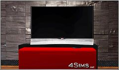 Sims 3 curved tv, oled tv, smart tv, tv, electronics, high-tech