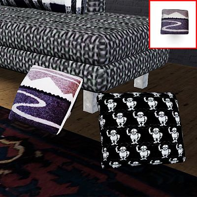 Sims 3 pillow, set, decor