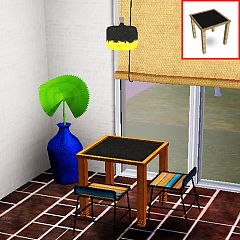 Sims 3 table, diningtable, furniture, decor