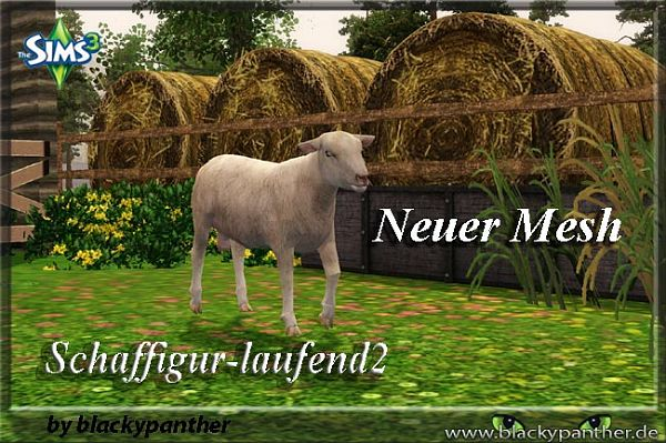 Sims 3 sheep, object, decor