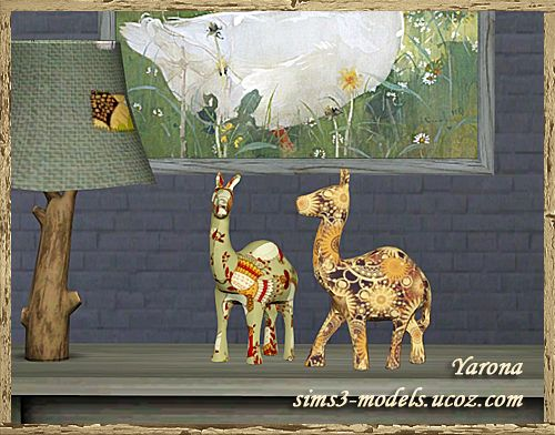 Sims 3 decor, object, statue