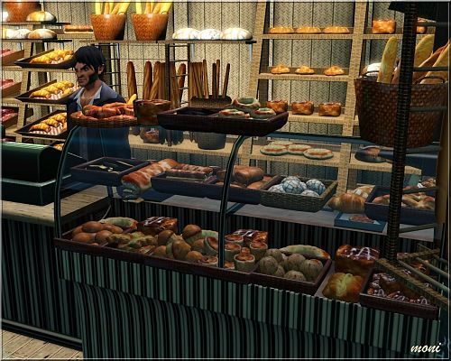 Sims 3 bakery , lot, community