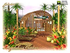 Sims 3 patio, outdoor, objects, decor, sims3