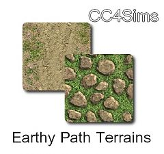 Sims 3 terrain, paint, earth