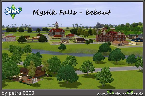 Sims 3 town, neighbourhood, residential, lots