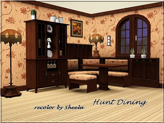 Sims 3 dining, diningroom, furniture, objects,set
