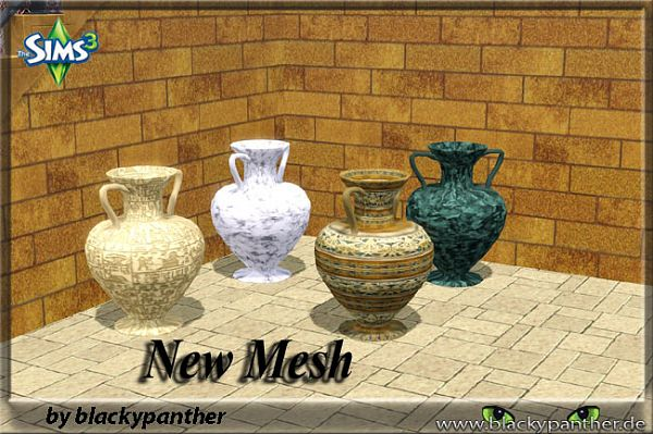 Sims 3 decor, object, amphora