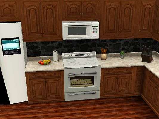 Sims 3 microwave, oven, kitchen, appliances