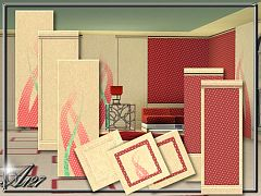 Sims 3 wall, walls, panels
