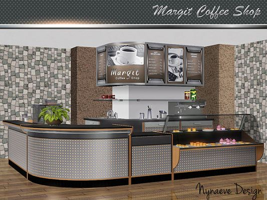 Sims 3 coffee shop, objects, furniture