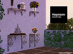 Sims 3 table, furniture, outdoor
