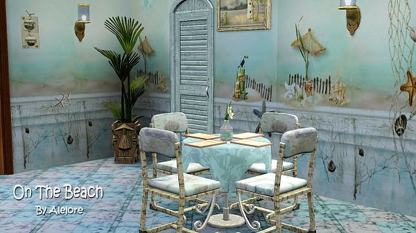 Sims 3 decor, object, set, walls