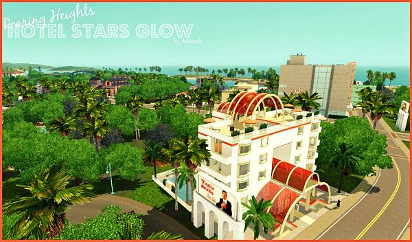 Sims 3 community, lot, hotel, sims3