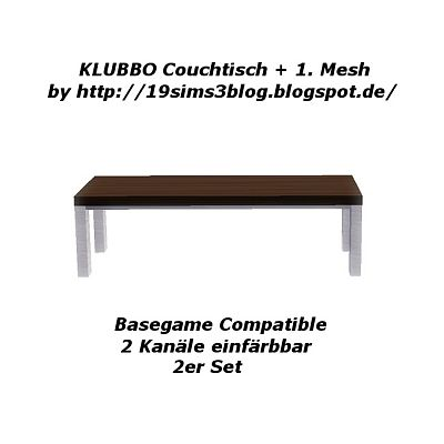 Sims 3 table, coffee table, furniture