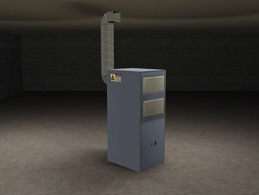 Sims 3 decor, object, furnace