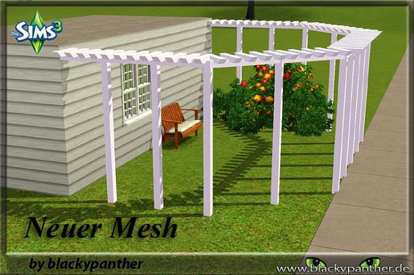 Sims 3 fence, decor, objects