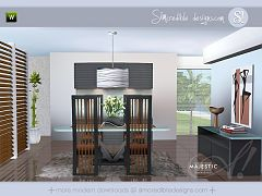Sims 3 dining, diningroom, furniture, objects, set