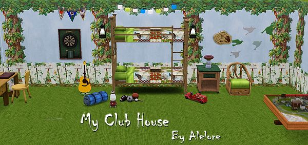 Sims 3 decor, object, set