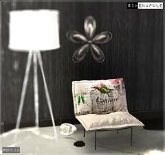 Sims 3 chair, furniture, object, decor